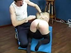 Gothic girl naked butan village sex punishment by PE teacher