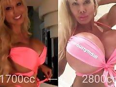 Tit-Sexual JO Session 20 - BustyFitDoll&039;s Implants