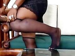 Her Perfect Ebony Soles