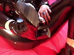 Black PVC, Ankle Boots and Vibrators