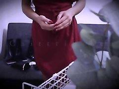 ASMR Fetish Kink - Latex Leather Gloves, Boots Worship - Femdom Asian Goddess in Nylon Stockings