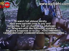 Ebony African half black aunts Play and Squirts in the Farm