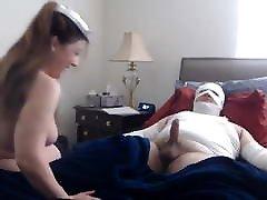 kinky nurse on homemade
