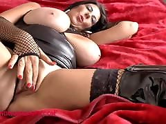 Amazing hanging tits on this big dick book mature