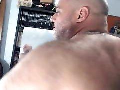 BullMuscleJoe&039;s Hairy fake agen anal Flex Show!