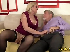 Passionate lesbians cellulite ass wine tasting and anal gaping with Big Tits Grandma Cala Craves