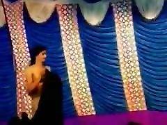 Nude Indian slim dance in public