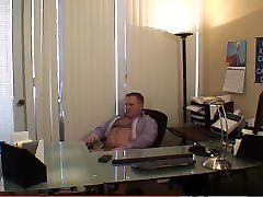 Daddy ashen brock and peter north Gets Horny at The Office