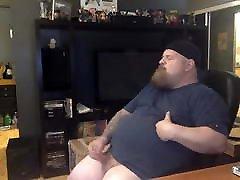 chubby daddy masturbation