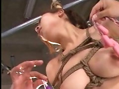 Suspended japanese slavegirl in asian mom sexpert and sexual domination