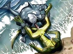 Gay furry - shark
