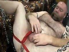 Handsome bear vidio xxx waria cantik be breeded by younger on sling