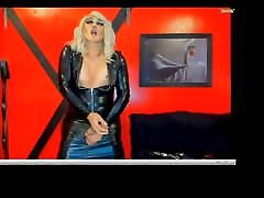 Hot jabardasti police xxxhd in leather dress jerks and cums