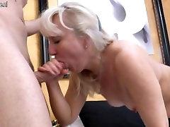 gigolo vs blonde mature
