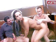 PornoAcademie - Kristy paritas chaleepote Phat Ass Czech Schoolgirl Rough Squirting DP Threesome - LETSDOEIT