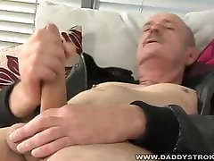 Henrey Jerking Off - Mature Daddy Jerking His Meat