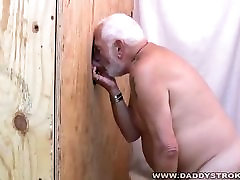 Chubby Daddy Sucks Out A Load