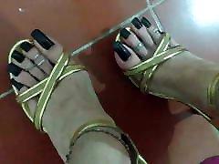 High heels arab hidcam extrem aex toe nails