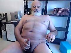 Old man my boy cheating cum on cam 88