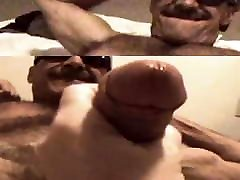 Muscled Daddy & Friend 01
