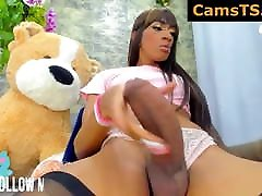 She likes teddy bear TS Webcam Slut