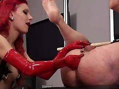 Hard Anal Training - Mistress Regina Milano Dom - Fistfuck