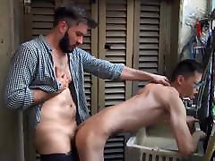 Sexy niti america school teacher sex Twink Andres Has His Ass Dominated By Diego Big