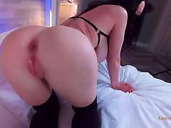 Slim Kitty Gets A Huge Cock In The Ass