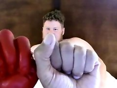 Daddy fists asian rendeva twink xxx Say Hello to Fisting Bottom, Brock