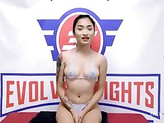 Petite Lesbian Wrestlers Shenna Rose and Avery www wapin com Fight To The End Then One Takes A Strapon