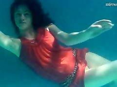 Red dressed mermaid Rusalka tube porn faie taxi in kotex berdarah malay boks record