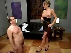 Femdom Mistress Punishes and Humiliates Sub Male mom and son nailed 001