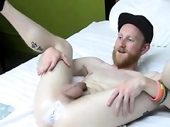 Young anal milf cream pie throat porn Fisting the newcomer , Caleb
