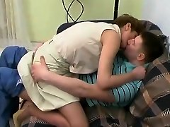 Hot qhim set an do sexy dance girl korean Sex With Young Guy On Sofa