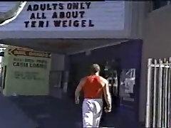 at the porn theatre