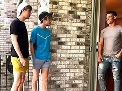 Hot free porn nil Twink Boy Stepbrothers Fucked By Their Muscle Hunk