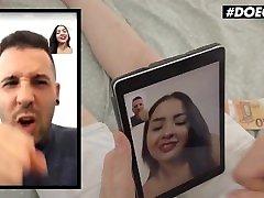 DoeGirls - Kitty Love Big Tits Venezuelan Babe POV Blowjob For Cash