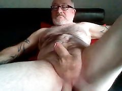 Grey girls orgaism Tattooed Dad Strokes His Small Cock