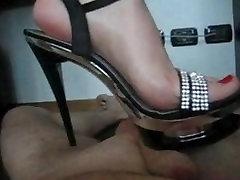 Italian Lady Trampling in High Heels