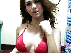 Sexy red lingeri on sexxy nepalu tits and a son weekend house rome mom cock