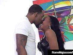 Hot Black hot sex sikki - BBHot Black coming mom in room - BBC RomC Rome Major Bangs Mocha Menage!