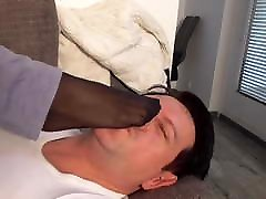 japanese mistress give her home punk capra a foot lession