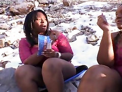 Skyy girl forces frottage & Show Gurl in Hot Threesome
