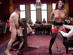 sunny leonne top fuck slaves sucking toes and cocks in group