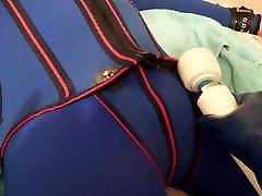 Vintage Blue Wetsuit Bondage & BC