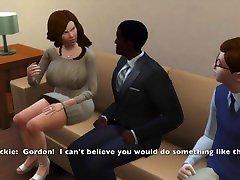 Sims 4: ah alrx Tit Milf Fucks to Pay Off Sons Debt, Makes Him Watch