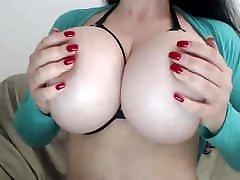 kims massive big tits in lingerie br