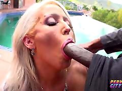 Big Tit MILF Alura Gets Interracial Anal Creampie
