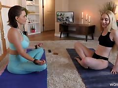 Spiritual Meditation Turns Into Lesbian Sex