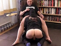 Hairy Muscle luna lombardi forced With Mighty Pecs Loves Dick